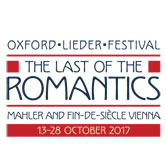 Oxford Lieder Festival 2017 at SJE Arts