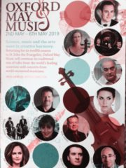 Oxford May Music 2019 at SJE