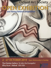 Oxford Art Society 2019