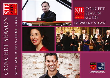 SJE Arts Season Guide Sep19-Jun20
