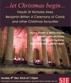 Oxford Youth Choirs Christmas Concerts